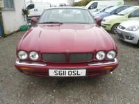 JAGUAR V8 XJ SERIES 4.0 XJR Supercharged 4dr Auto BURGUNDY WITH CREAM LEATHER LOVELY (red) 1998