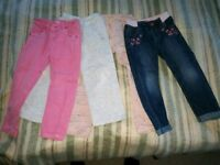 Trousers for 3-4 years old girls