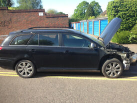 Breaking 2007 Toyota Avensis 2.0 D4D Estate ALL Parts Available Black Low Miles