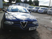 Alfa Romeo 156 2.4 JTD, have MOT