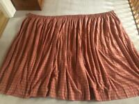 Laura Ashley fabric curtain. Collect Chichester
