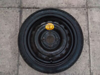 Small emergency spare tyre