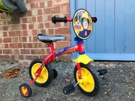 Fireman Sam bike. Hardly used. Excellent condition.