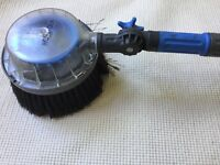 Hozelock long car wash/brush kit. Makes cleaning cars so much easier. Wheel brush attachment too