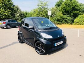 Smart car eco mhd auto /paddleshift 2010 lady owner half leather lovely car bargain px swap wel