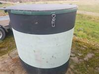 Solway recycling bin for farm waste stables etc tractor