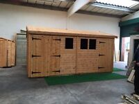 garden sheds summer houses sale now on