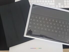 NEW Google Pixel C Keyboard (Silver/Black) QWERTY English (UK)