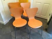 RETRO CHAIRS £ 35.00 THE LOT