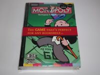 MS Compact Bookshelf Edition Monopoly NEVER USED In Unopen Packaging Board Game Classic Ilford IG3