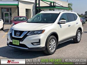 2017 Nissan Rogue SV AWD | Htd Front Seats, Bluetooth, Rear Came