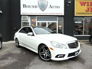 2010 Mercedes-Benz E-Class E350,4MATIC,AMG RIMS,PANO ROOF