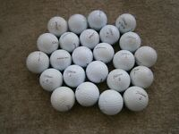 30 various model Srixon used golf balls in good / very good condition