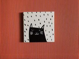 Cat Tile (Handmade)