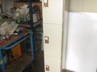 3 compartment personal locker / cabinet
