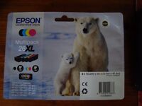 Brand new Sealed Epson 26XL ink multipack