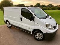 Renault Trafic SL27+ DCI 115 3Dr In Mint Condition! FULL SERVICE HISTORY/1 Year MOT/HPI Clear