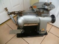451K45 Singer Industrial Machine with guide SPIRAL stitch attachment