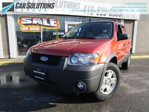 2007 Ford Escape XLT-4WD-LEATHER-CERTIFIED