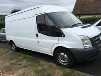 White Ford Transit CLEAN CONDITION