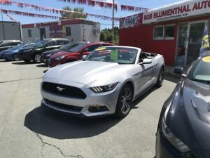 2017 Ford Mustang Ecoboost Premium Conv($237 bi weekly oac)