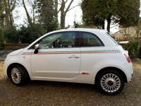 FIAT 500 1.2 Lounge 3 Door , 1 Lady Owner from New
