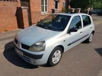 2003 Renault Clio 1.5 DCI £30 Road Tax Drive Away