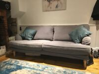 Ikea Stocksund 3 Seater Sofa in grey. Immaculate condition.