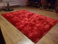 Red sparkle rug for sale