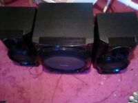 Speakers and sub woofer