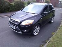 ford kuga titanium 2012 mint mot,d service hist driving perfect no faults alloys etc half leather