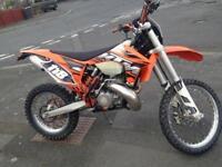 KTM 250cc CHEAP! 63 plate