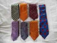 7 x Mens Silk Ties
