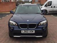 2010 BMW X1 SDRIVE 20d SE Diesel 114k Miles genuine warranted 177BHP Mot 21-12-18 Manual Navigation