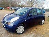 2004 - Nissan Micra SE - Automatic - 1.2 Petrol - Low Mileage - LONG MOT - Cheap Tax & Insurance