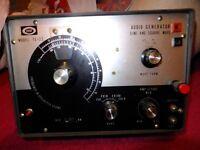 Audio generators, pick and mix