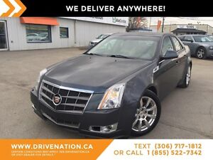 2009 Cadillac CTS 3.6L RIDE IN LUXURY, AWD, LEATHER, HEATED S...