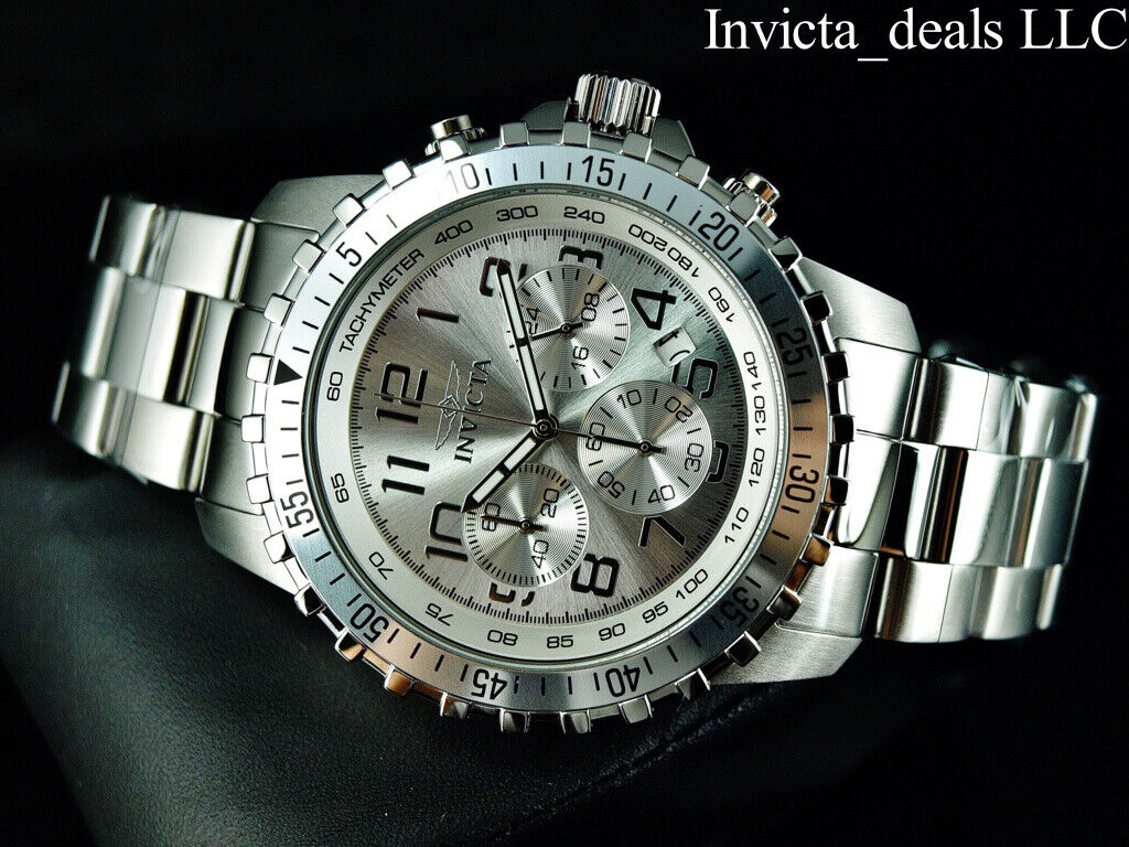 Invicta Men's 'II' Swiss Quartz Stainless Steel Casual Watch