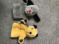 Sooty and sweep puppet toys