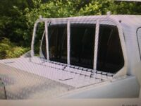 Ladder rack /window guard L200