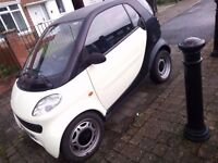 FAULTY Smart Fortwo 2000 for £350