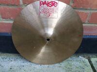 "Cymbals - Paiste 2002 18"" Medium - Cut down to 14.5"""