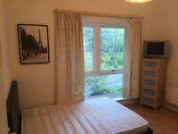 A recently decorated double room with fast internet, bills are included
