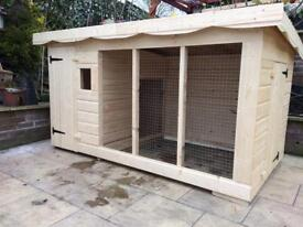 Brand new extra large dog kennel and run RRP £900
