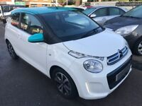 2015/65 CITROEN C1 1.2 PURETECH FLAIR,WHITE,3 DOOR,ONLY 11000 MILES,£FREE ROAD TAX,WARRANTY INCLUDED
