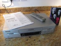 Multi Region Panasonic Video Cassette Recorder NV-FJ620