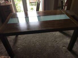 Julian Bowen Santiago Dining Room Table & 6 Chairs