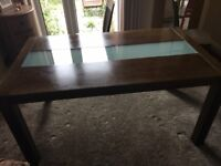 Julian Bowen Santiago Dining Room Table & 6 Chairs