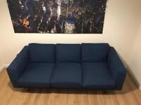 Ikea NORSBORG three seater sofa