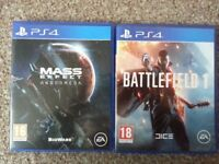 Mass effect andromeda and battlefield 1